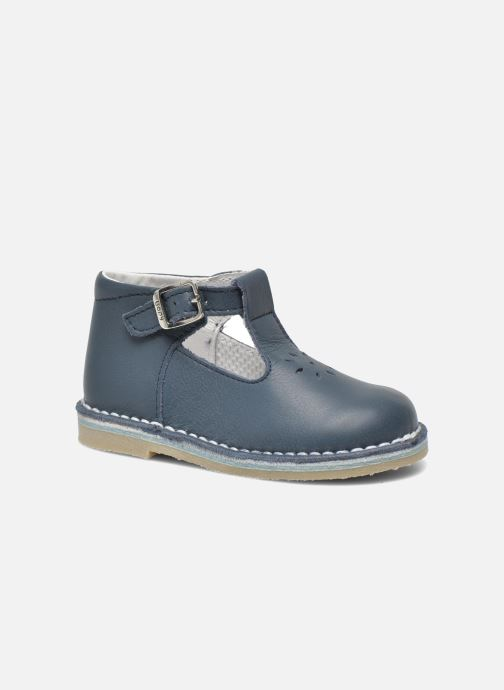 Summer boots Bopy Mapil Blue detailed view/ Pair view