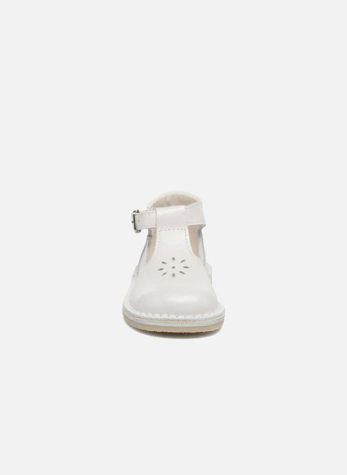 Botines de verano Bopy Mapil Blanco vista del modelo