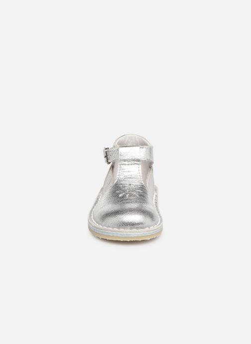 Bottines d'été Bopy Mapil Argent vue portées chaussures