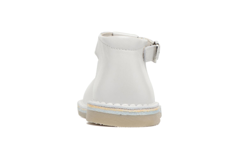 Zomerlaarsjes Bopy Mapil Wit rechts