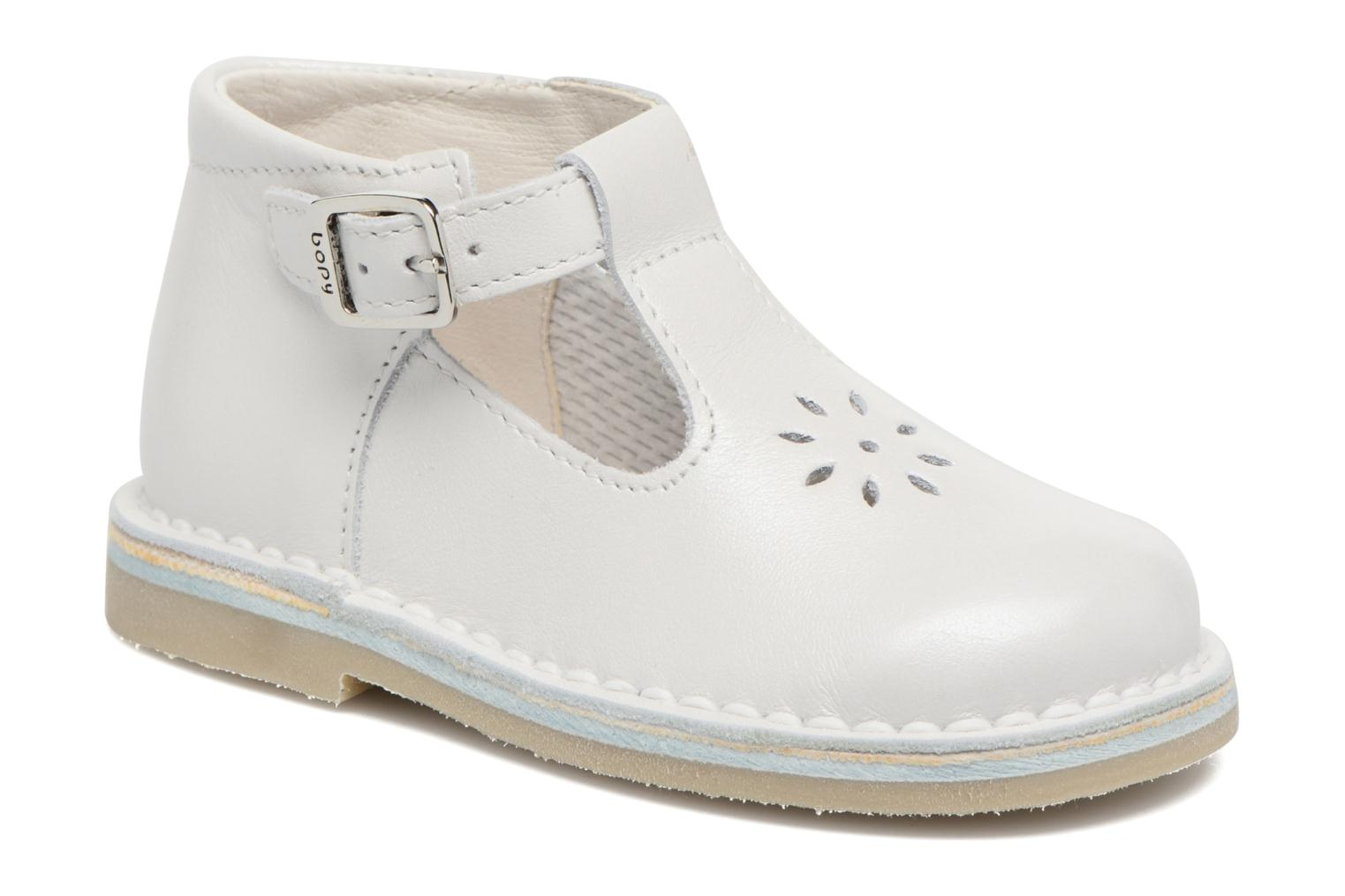 Summer boots Bopy Mapil White detailed view/ Pair view