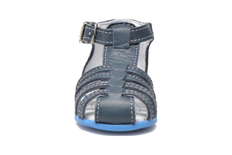 Sandalen Bopy Pablo blau schuhe getragen