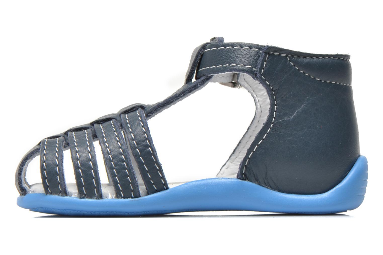 Sandalen Bopy Pablo blau ansicht von vorne