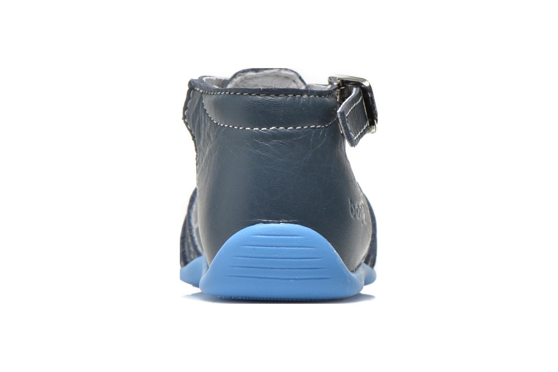 Sandalen Bopy Pablo blau ansicht von rechts