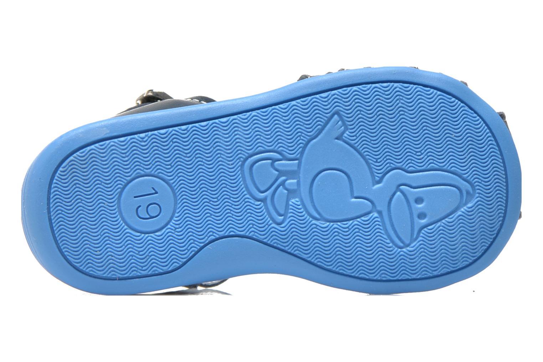 Sandalen Bopy Pablo blau ansicht von oben