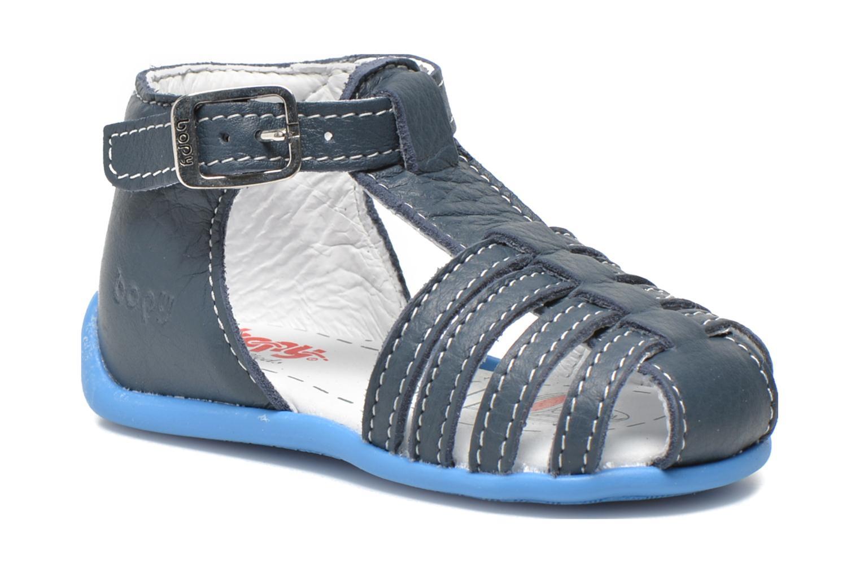 Sandales et nu-pieds Bopy Pablo Bleu vue détail/paire