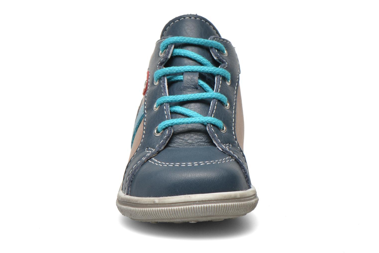 Ankle boots Bopy Zacky Blue model view