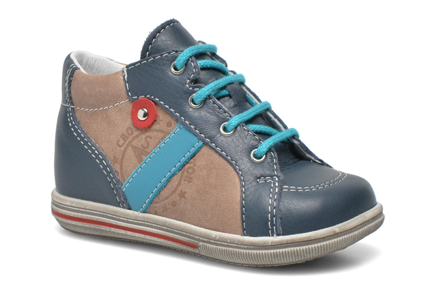 Ankle boots Bopy Zacky Blue detailed view/ Pair view