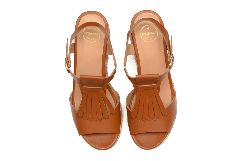 Sandalen Made by SARENZA Discow Girl #1 braun schuhe getragen