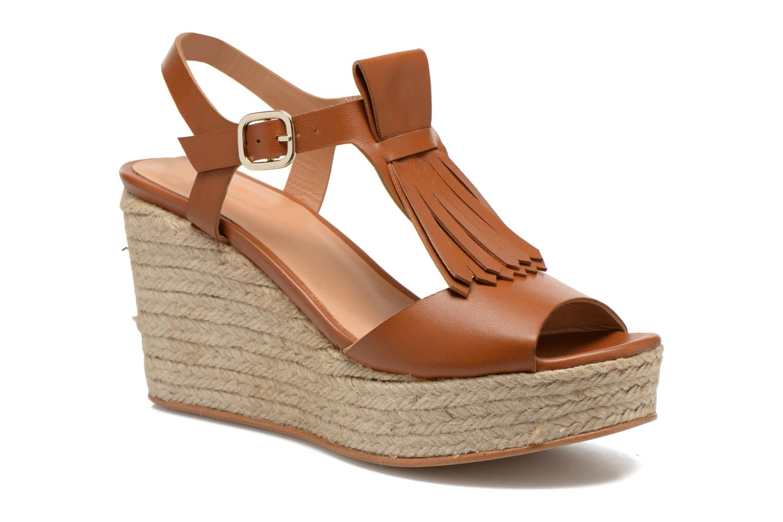 Sandalias Made by SARENZA Discow Girl #1 Marrón vista lateral derecha