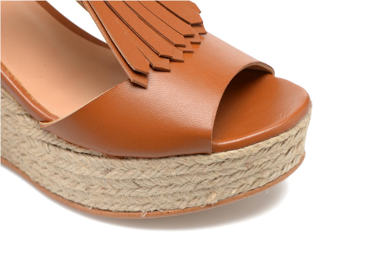 Sandalen Made by SARENZA Discow Girl #1 braun ansicht von links