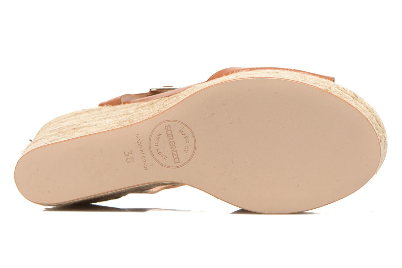 Sandalen Made by SARENZA Discow Girl #1 braun ansicht von oben