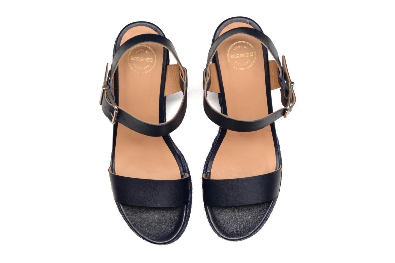 Sandales et nu-pieds Made by SARENZA Menthe Hello #18 Bleu vue portées chaussures