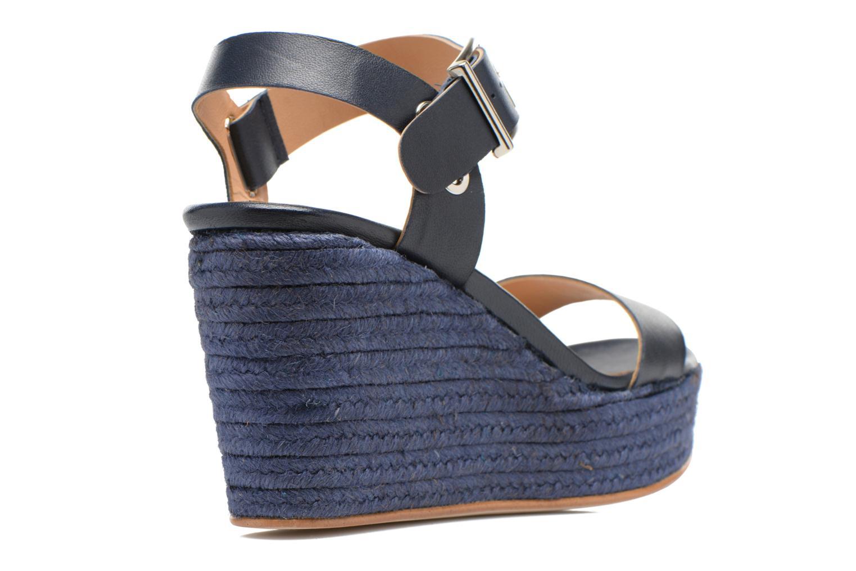 Sandales et nu-pieds Made by SARENZA Menthe Hello #18 Bleu vue face