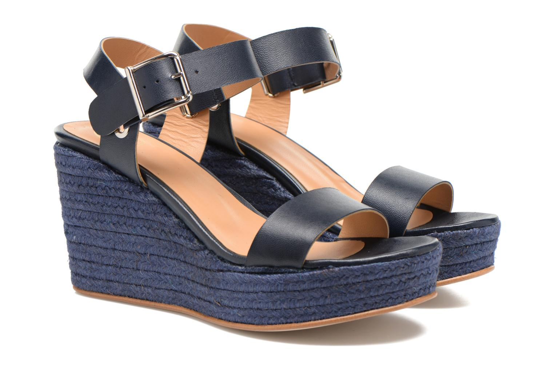 Sandales et nu-pieds Made by SARENZA Menthe Hello #18 Bleu vue derrière