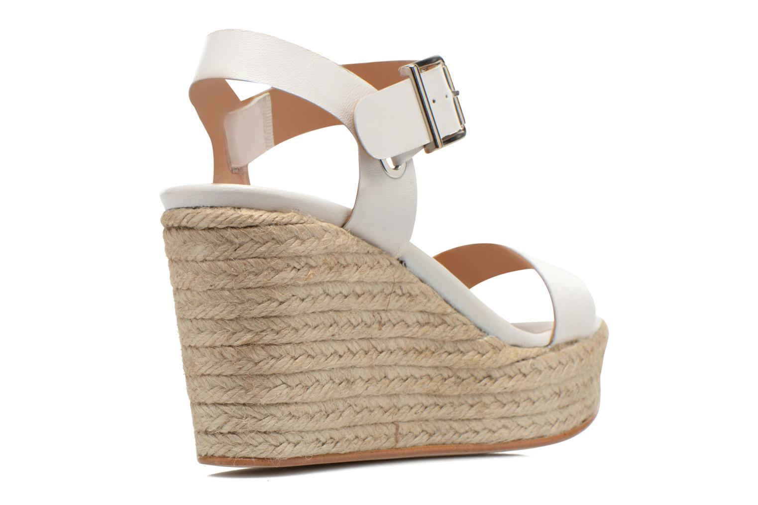Sandals Made by SARENZA Menthe Hello #18 White front view