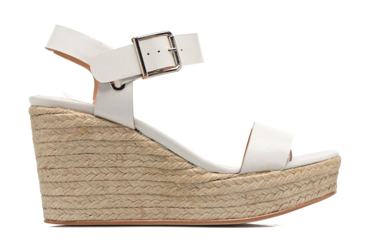 Sandals Made by SARENZA Menthe Hello #18 White detailed view/ Pair view