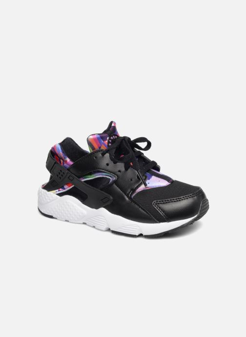 c2f67d35809a Nike Nike Huarache Run Print (Ps) (Black) - Trainers chez Sarenza ...