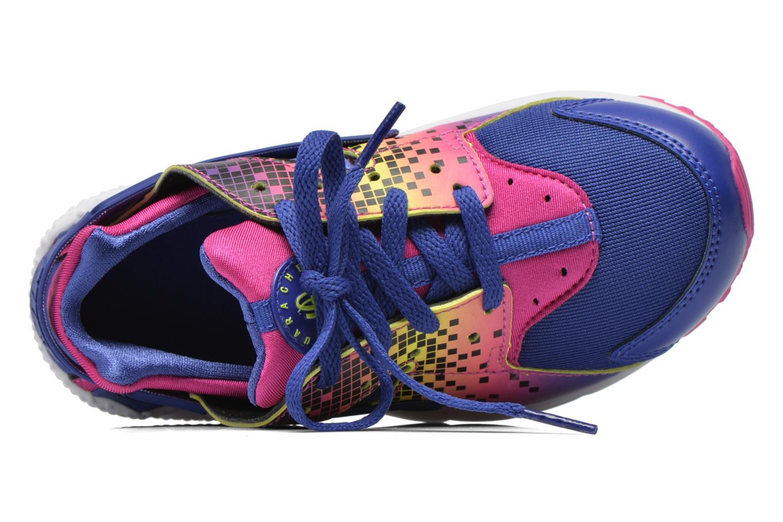 Baskets Nike Nike Huarache Run Print (Ps) Violet vue gauche