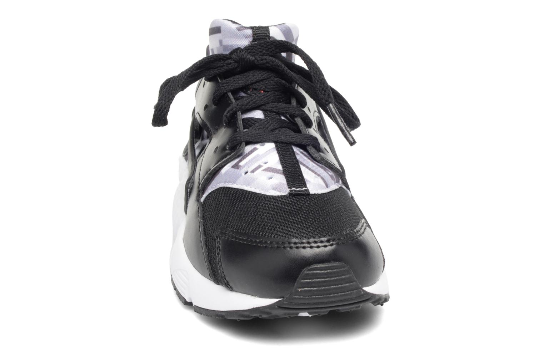 Baskets Nike Nike Huarache Run Print (Ps) Noir vue portées chaussures