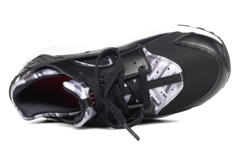 Baskets Nike Nike Huarache Run Print (Ps) Noir vue gauche