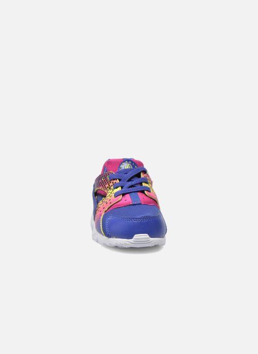 Baskets Nike Nike Huarache Run Print (Td) Violet vue portées chaussures