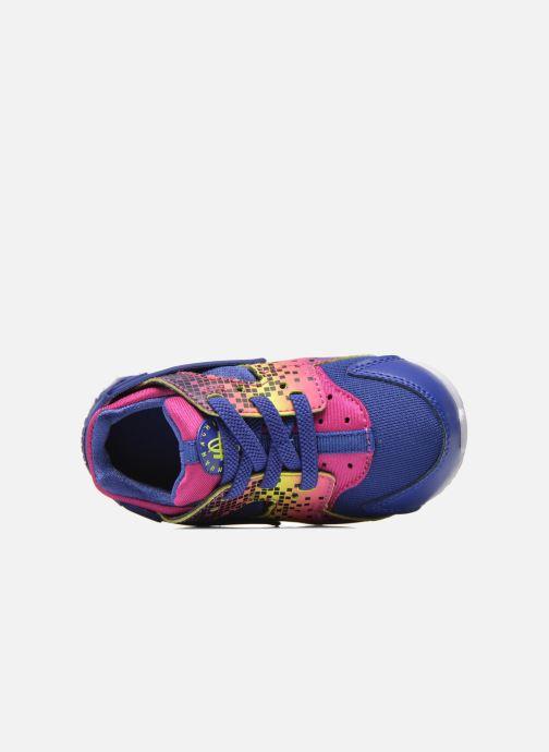 Baskets Nike Nike Huarache Run Print (Td) Violet vue gauche