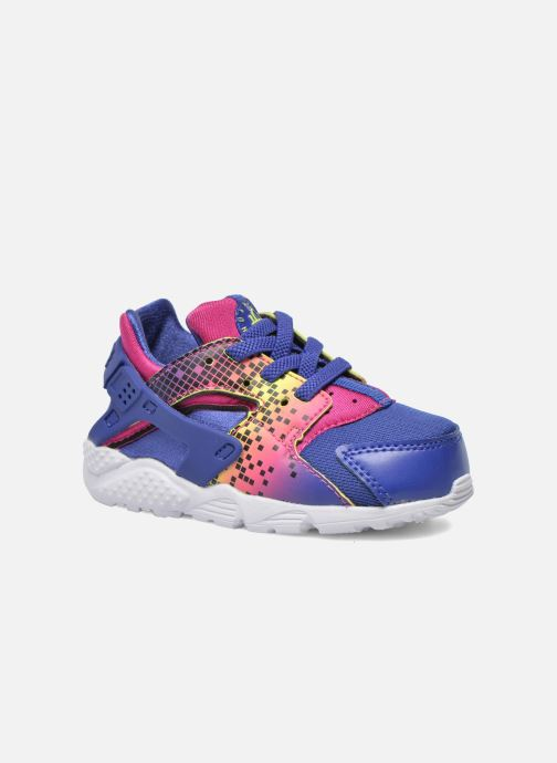 Baskets Nike Nike Huarache Run Print (Td) Violet vue détail/paire
