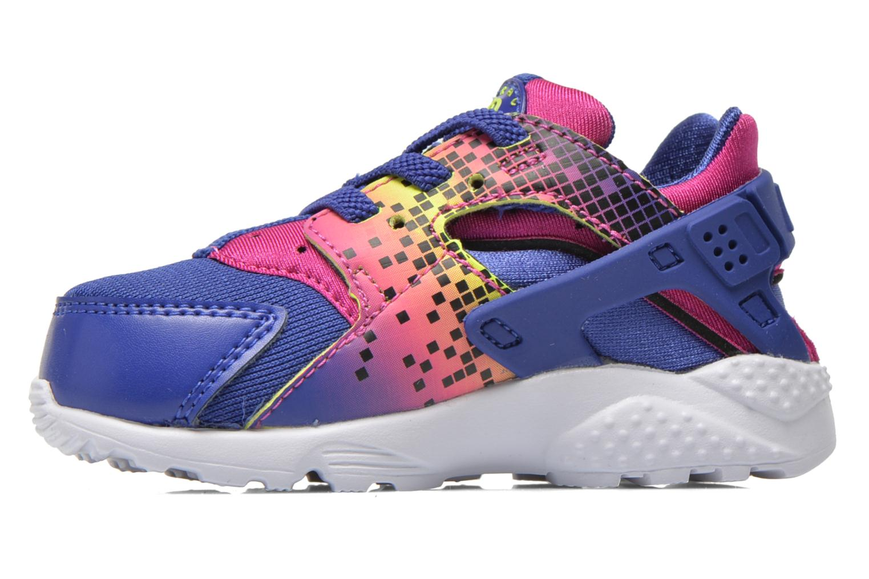 Baskets Nike Nike Huarache Run Print (Td) Violet vue face
