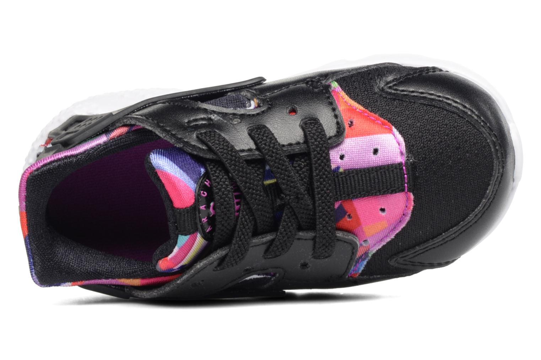 Baskets Nike Nike Huarache Run Print (Td) Noir vue gauche