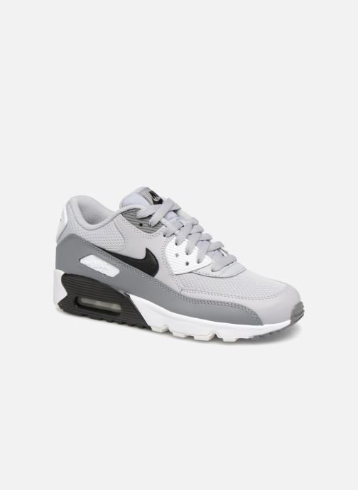 Nike Air Max 90 Mesh (Gs) (Gris) Baskets chez Sarenza (339286)