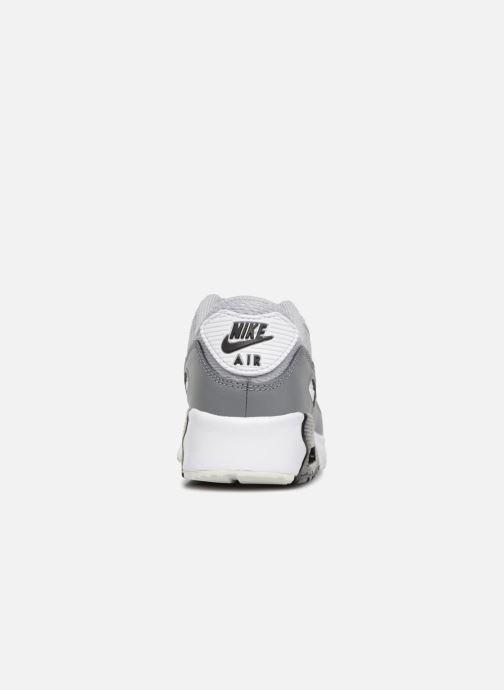 Sneakers Nike Air Max 90 Mesh (Ps) Grijs rechts