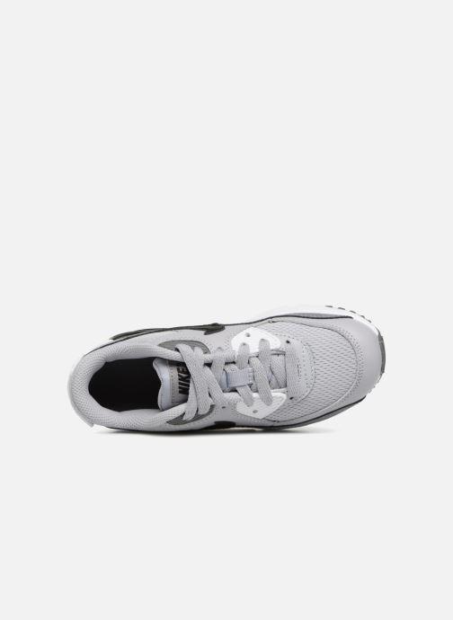 Sneakers Nike Air Max 90 Mesh (Ps) Grijs links