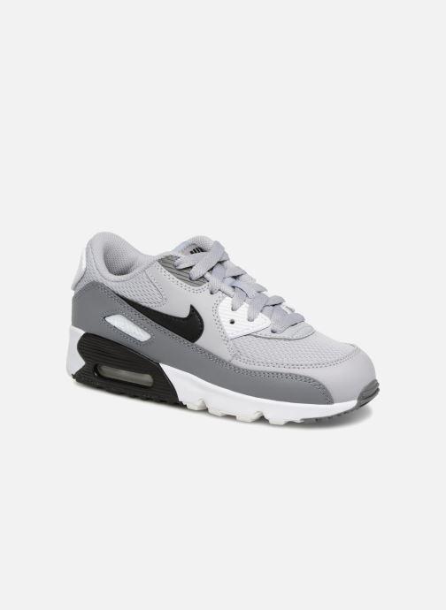 Sneakers Nike Air Max 90 Mesh (Ps) Grijs detail