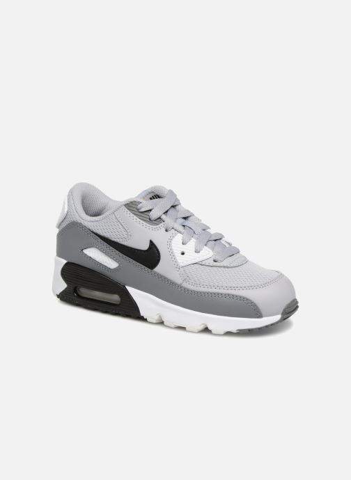 Sneakers Nike Air Max 90 Mesh (Ps) Grijs detail