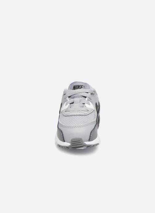 Sneaker Nike Air Max 90 Mesh (Td) grau schuhe getragen