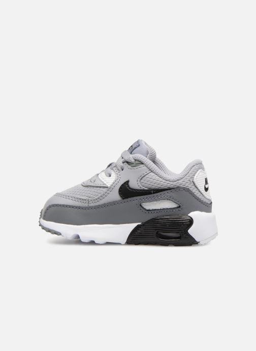 Sneaker Nike Air Max 90 Mesh (Td) grau ansicht von vorne