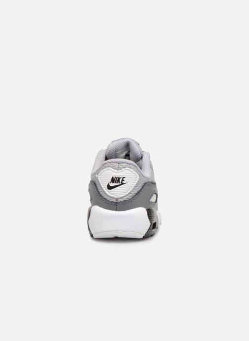 Sneakers Nike Air Max 90 Mesh (Td) Grijs rechts