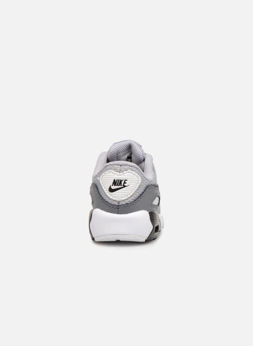 Sneaker Nike Air Max 90 Mesh (Td) grau ansicht von rechts