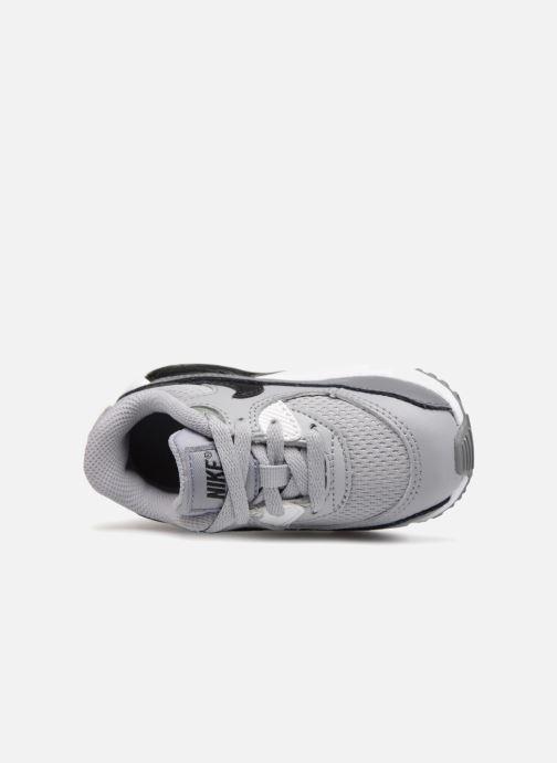 Sneaker Nike Air Max 90 Mesh (Td) grau ansicht von links