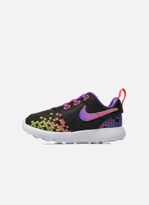 Sneakers Nike Roshe One Print (Tdv) Nero immagine frontale