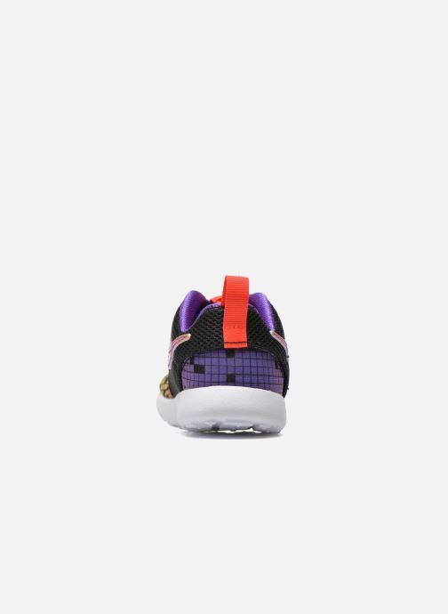 Baskets Nike Roshe One Print (Tdv) Noir vue droite