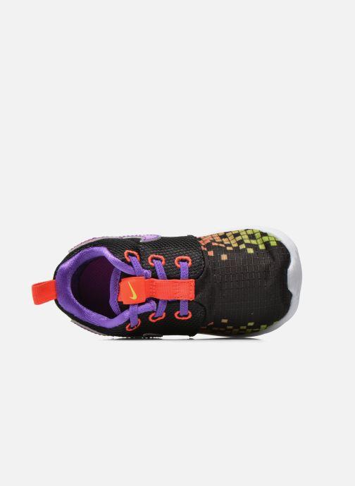 Deportivas Nike Roshe One Print (Tdv) Negro vista lateral izquierda
