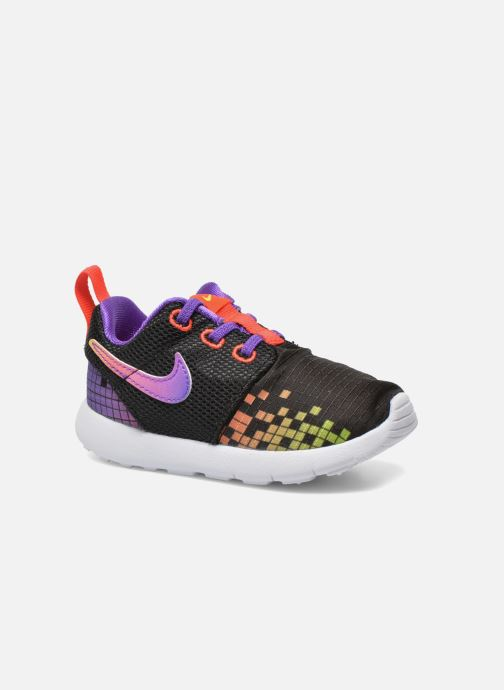 Baskets Nike Roshe One Print (Tdv) Noir vue détail/paire