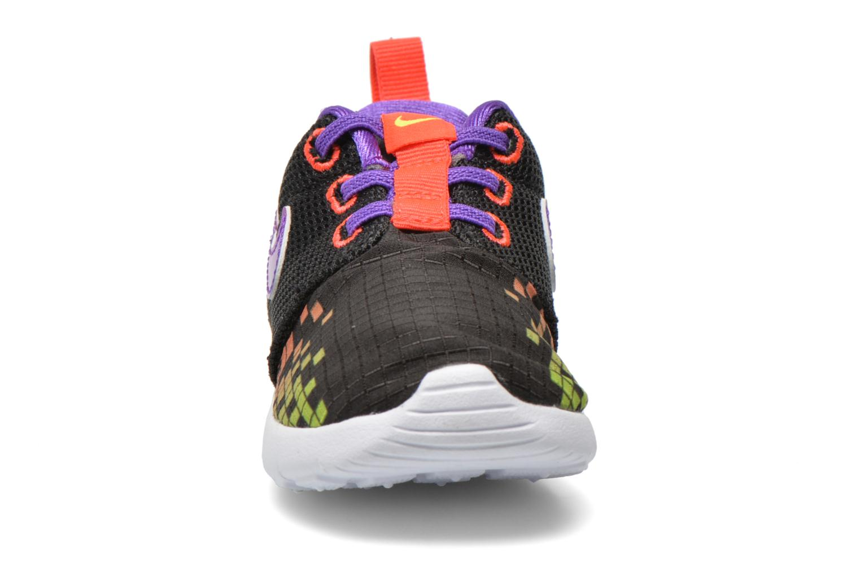 Baskets Nike Roshe One Print (Tdv) Noir vue portées chaussures