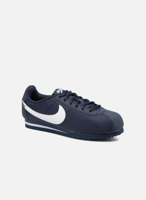 quality design 3f221 e3a63 Baskets Nike Cortez Nylon (Gs) Bleu vue détail paire