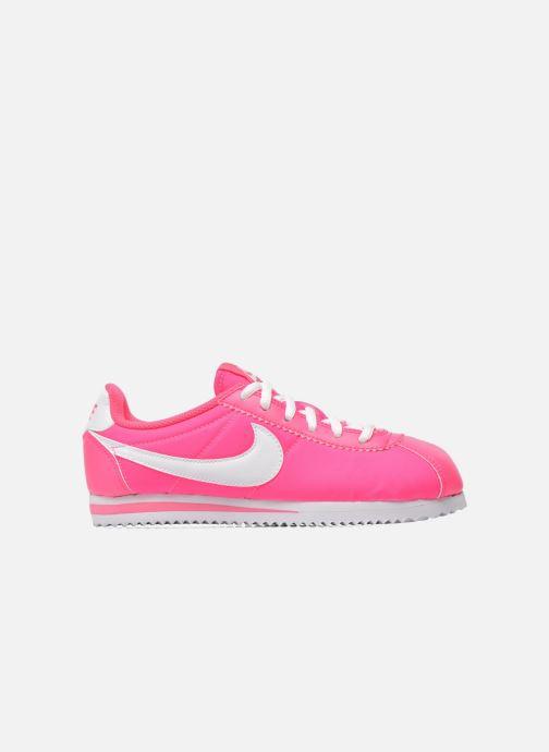 Deportivas Nike Cortez Nylon (Gs) Rosa vistra trasera