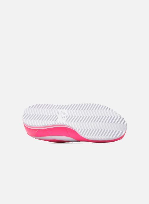 Deportivas Nike Cortez Nylon (Gs) Rosa vista de arriba