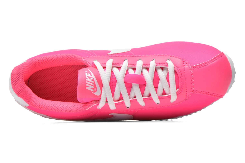 Baskets Nike Cortez Nylon (Gs) Rose vue gauche