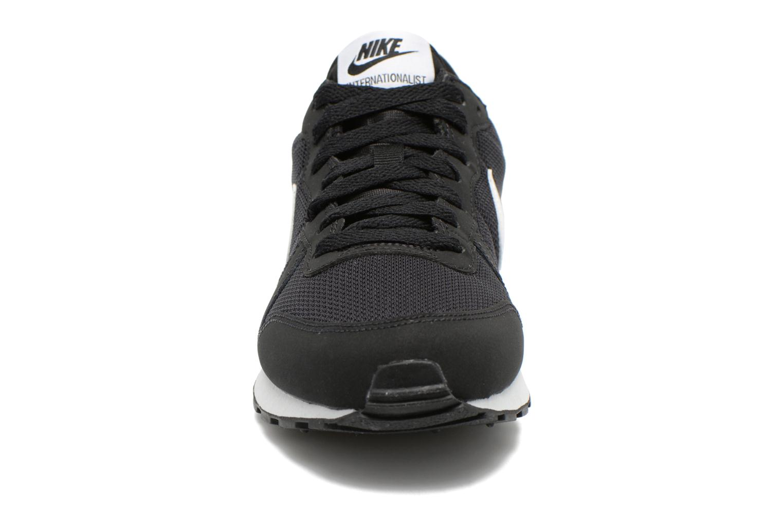 Baskets Nike Internationalist (Gs) Noir vue portées chaussures